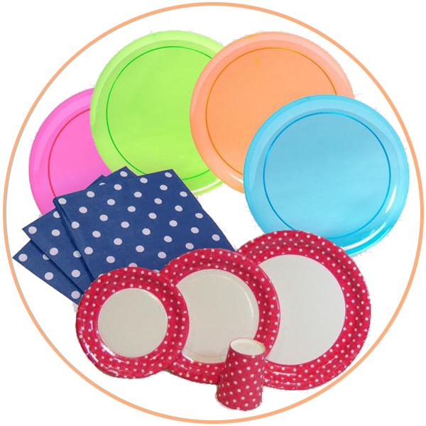 כלים חד פעמיים לפי צבע