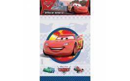 שקיות יום הולדת גדולות דגם מכוניות