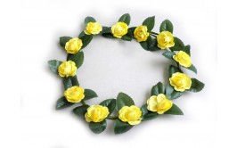 זר צהוב פרחים