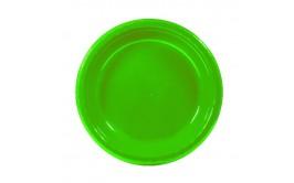 צלחות 7 איכותיות צבע ירוק תפוח מרהיב