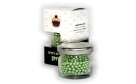 סוכריות דרז'ה ירוק מטאלי