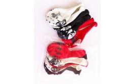 בלוני פיראטיים אדום שחור לבן במארז