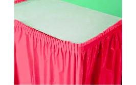חצאית שולחן ורוד פוקסייה