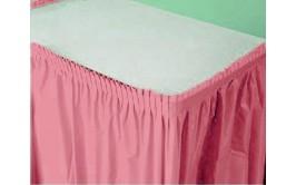 חצאית שולחן ורוד בייבי
