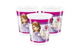 סט כוסות דגם הנסיכה סופיה