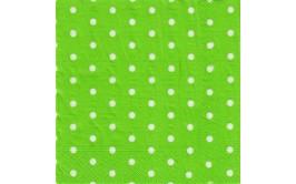 חבילת מפיות ירוק נקודות
