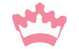 חותכן נירוסטה בצורת כתר נסיכה