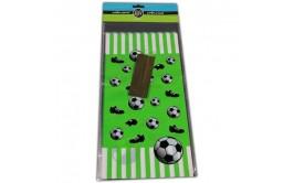 מארז 10 שקיות דגם כדורגל+סוגרים