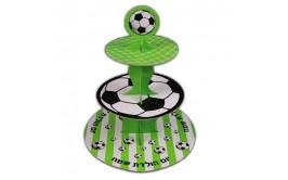מעמד לקאפקייקס דגם כדורגל 2