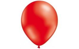 10 בלונים בצבע אדום מטאלי מרהיב