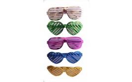 משקפי תריס צבעים מטאליים