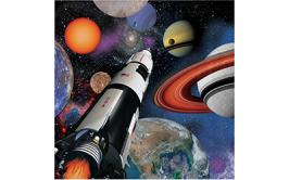מארז מפיות הרפתקה בחלל