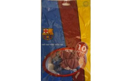 מארז 10 בלוני גומי איכותיים לוגו ברצלונה