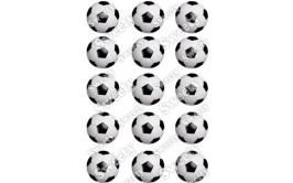תמונות אכילות כדורגל לקאפקייקס