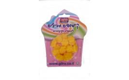 מארז פרחים צבע צהוב מבצק סוכר