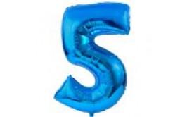 בלון מיילר ענק מספר 5 צבע כחול