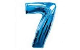 בלון מיילר ענק מספר 7 צבע כחול