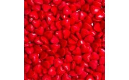 סוכריות סודה לבבות צבע אדום
