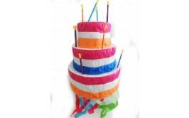 פיניאטה עוגה 3 קומות +מקל
