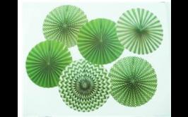 סט 6 טיטוס מרהיבים צבע ירוק