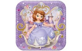 צלחות מרובעות גדולות הנסיכה סופיה
