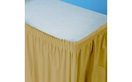 חצאית שולחן צבע זהב