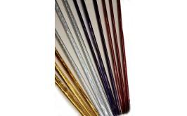 מארז 3 צלופנים צבעוניים/מוזהבים/מוכספים