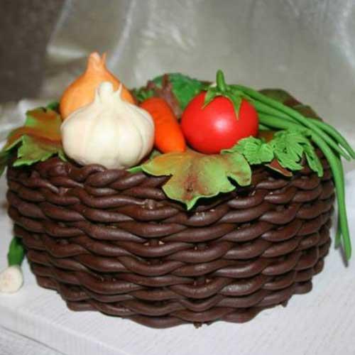 עוגה בצורת סלסלה