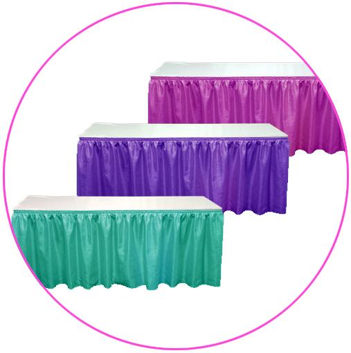 חצאיות שולחן