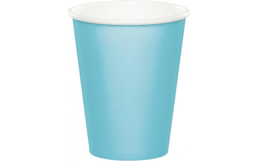 סט כוסות שתייה חמה/קרה צבע תכלת
