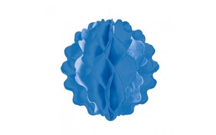 """כוורת קישוט צבע כחול קוטר 20 ס""""מ"""