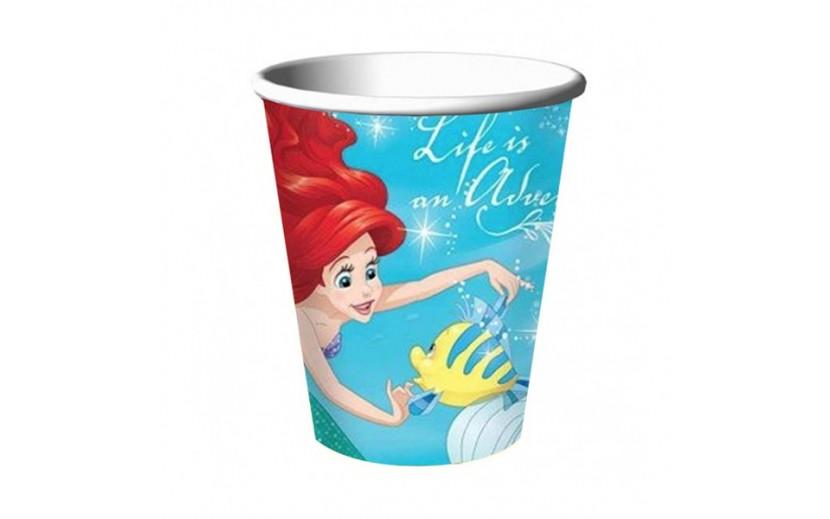 מארז כוסות בת הים הקטנה