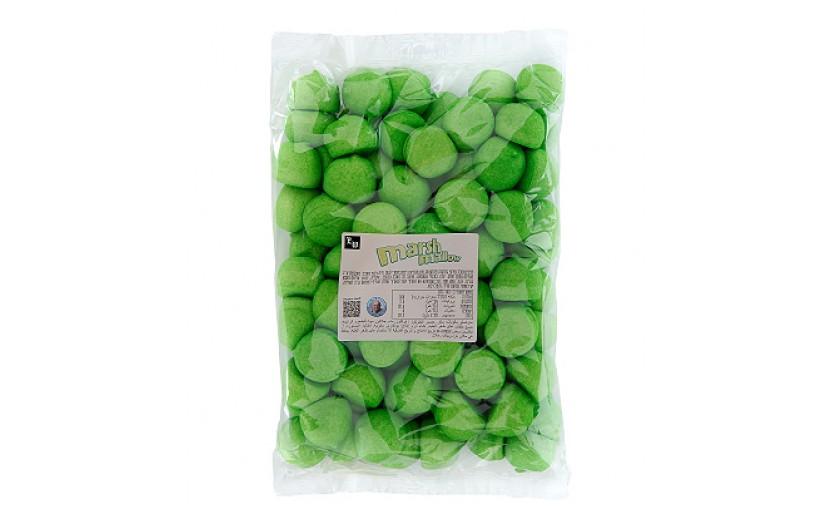 מארז 800 גרם מרשמלו ירוק טעם תפוח