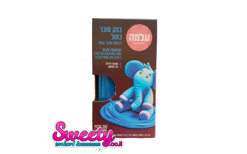 בצק סוכר 150 גרם צבע כחול