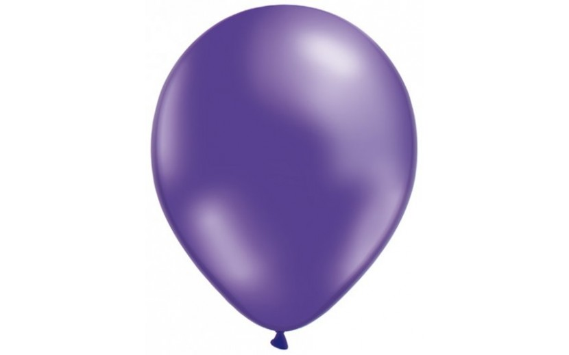 מארז בלונים בצבע סגול מטאלי מרהיב