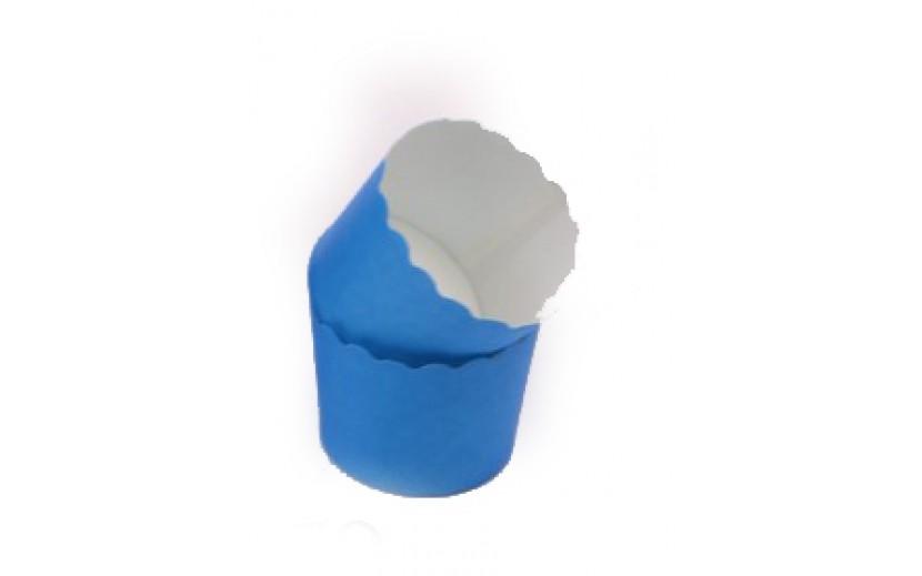 מארז גביעי קאפקייקס קטנים צבע כחול