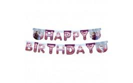כרזת יום הולדת אותיות פרוזן 2