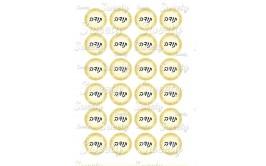 טרנספר אוראו תודה זהב 422