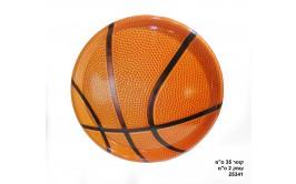 מגש הגשה שטוח כדורסל