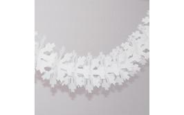 שרשרת נייר לבן