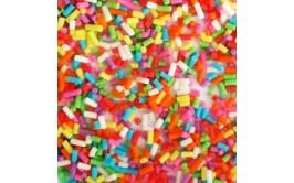 נטיפי סוכר במרקם סופט  צבעים מעורב