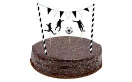 מארז לקישוט העוגה דגם כדורגל