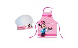 סינר ילדים עם כובע דגם מיני מאוס