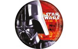 סט צלחות גדולות מלחמת הכוכבים