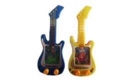 משחק מים בצורת גיטרה