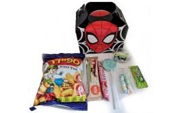 קופסת ספיידרמן עם ממתקים והפתעה