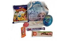 קופסת פרוזן עם ממתקים והפתעה