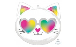 בלון מיילר 18 חתול צבעי קשת