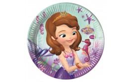 סט צלחות גדול דגם הנסיכה סופיה