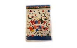 מארז 5 שקיות יום הולדת עם ידיות דגם לבן